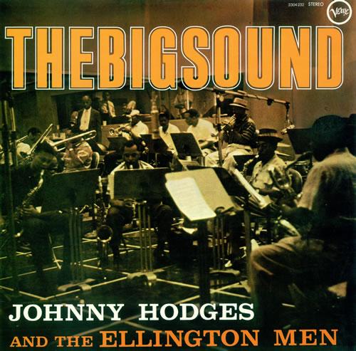 Johnny Hodges The Big Sound vinyl LP album (LP record) French JATLPTH492639