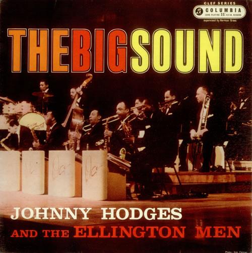 Johnny Hodges The Big Sound vinyl LP album (LP record) UK JATLPTH541367