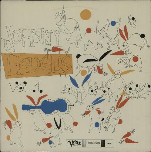 Johnny Hodges The Rabbit's Work On Verve - Vol. 1 vinyl LP album (LP record) French JATLPTH675716