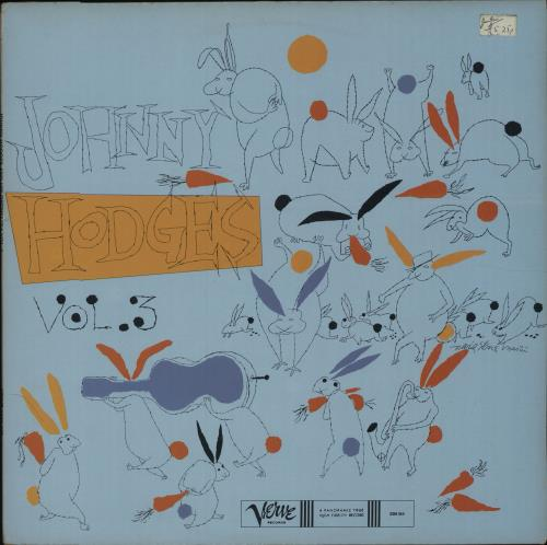 Johnny Hodges The Rabbit's Work On Verve - Vol. 3 vinyl LP album (LP record) French JATLPTH675713