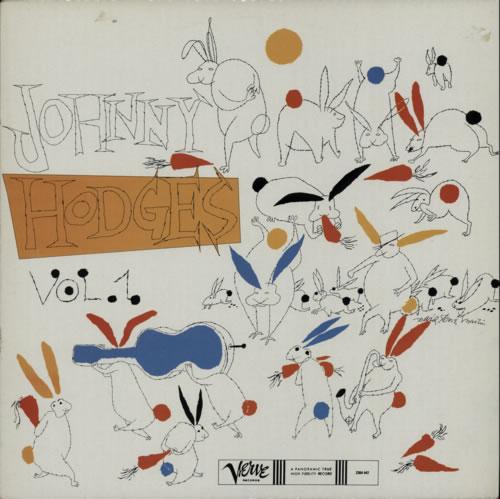 Johnny Hodges The Rabbit's Work On Verve - Volumes 1 - 6 vinyl LP album (LP record) French JATLPTH588986