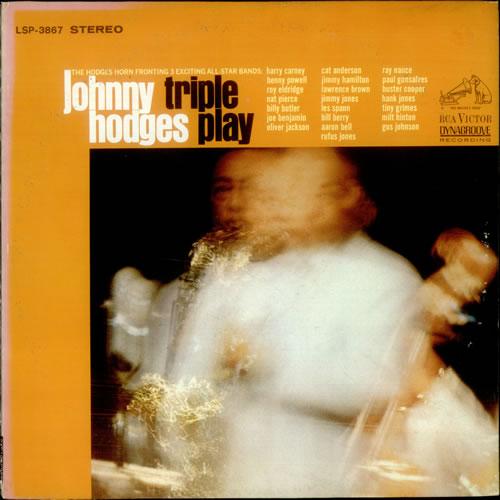 Johnny Hodges Triple Play vinyl LP album (LP record) US JATLPTR541366