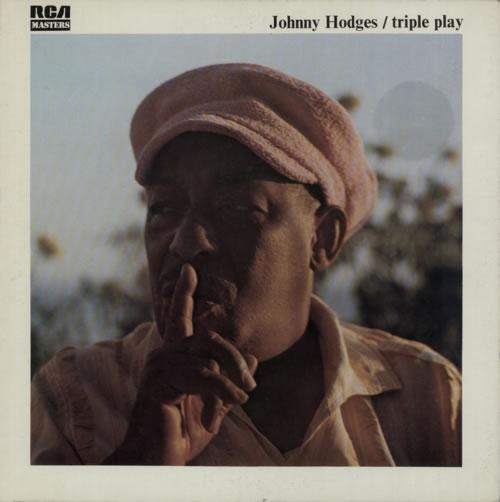 Johnny Hodges Triple Play vinyl LP album (LP record) French JATLPTR595599