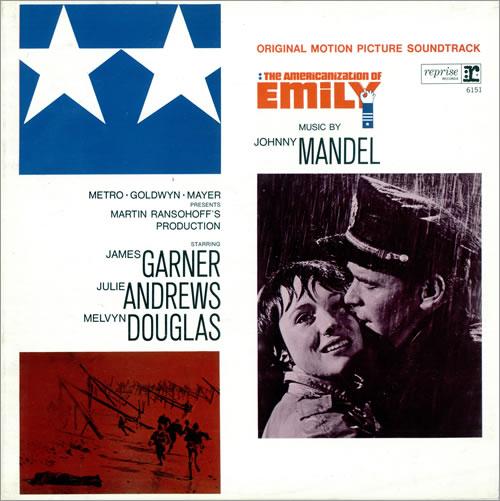 Johnny Mandel The Americanization Of Emily vinyl LP album (LP record) UK JTZLPTH476234