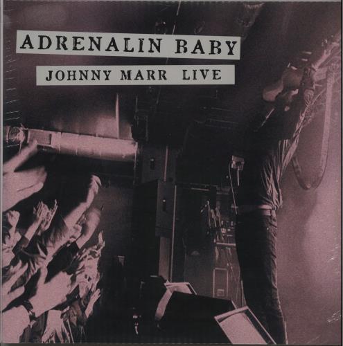 Johnny Marr Adrenalin Baby: Johnny Marr Live - Pink - Sealed 2-LP vinyl record set (Double Album) UK JYR2LAD644259