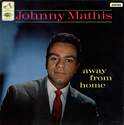 Johnny Mathis Away From Home - Factory Sample vinyl LP album (LP record) UK J-MLPAW475354