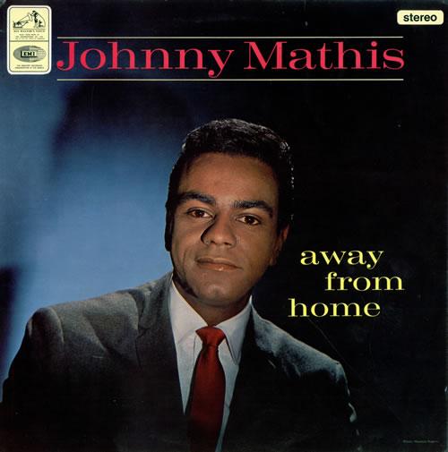 Johnny Mathis Away From Home - Factory Sample vinyl LP album (LP record) UK J-MLPAW475354