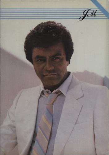 Johnny Mathis In Concert '86 tour programme UK J-MTRIN682823