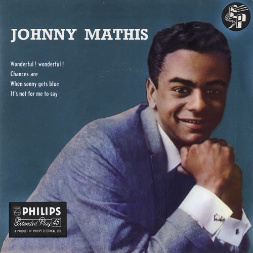 "Johnny Mathis Johnny Mathis EP 7"" vinyl single (7 inch record) UK J-M07JO565411"