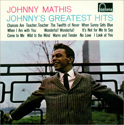 Johnny Mathis Johnny's Greatest Hits vinyl LP album (LP record) UK J-MLPJO475435