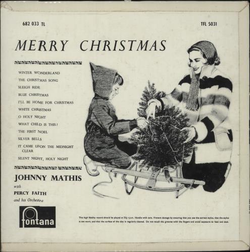 johnny mathis merry christmas vinyl lp album lp record uk j mlpme676649 - Johnny Mathis Merry Christmas