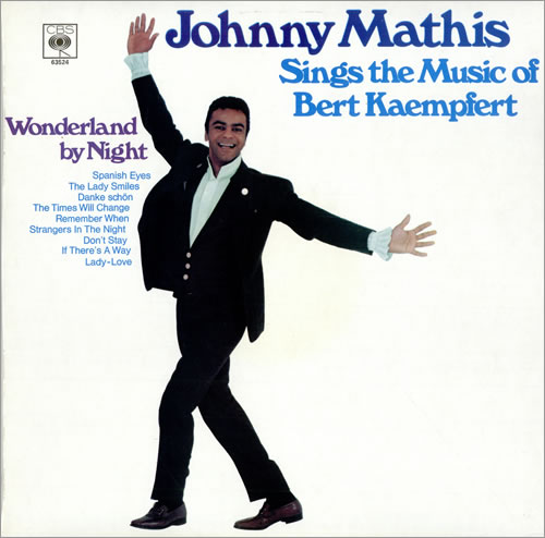 Johnny Mathis Sings The Music Of Bert Kaempfert vinyl LP album (LP record) UK J-MLPSI475441