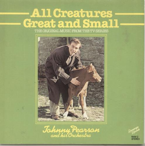 """Johnny Pearson All Creatures Great And Small + Sleeve 7"""" vinyl single (7 inch record) UK JY907AL694115"""