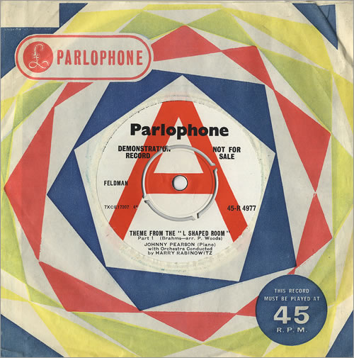 """Johnny Pearson Theme From 'The L Shaped Room' 7"""" vinyl single (7 inch record) UK JY907TH486577"""