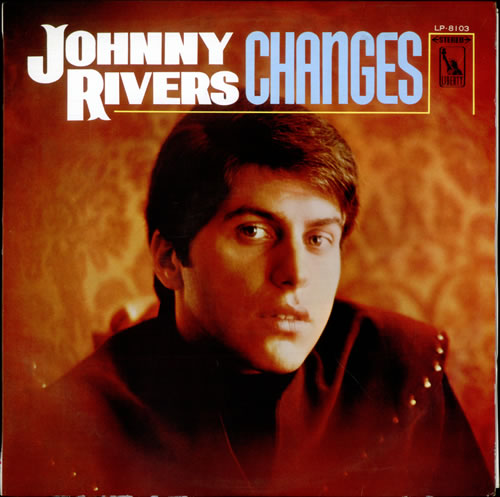 Johnny Rivers Changes Test Pressing Japanese Vinyl Lp