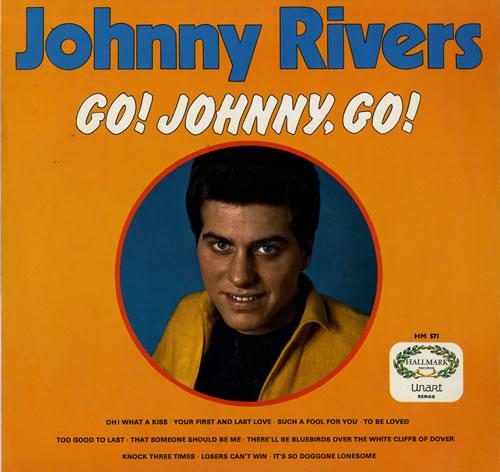Johnny Rivers Go Johnny Go Uk Vinyl Lp Album Lp Record
