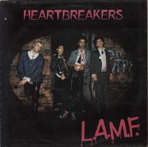 Johnny Thunders & The Heartbreakers L.A.M.F. - VG vinyl LP album (LP record) UK JTHLPLA685918