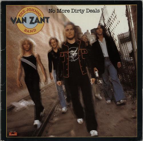 Johnny Van Zant No More Dirty Deals vinyl LP album (LP record) Dutch J5XLPNO610226