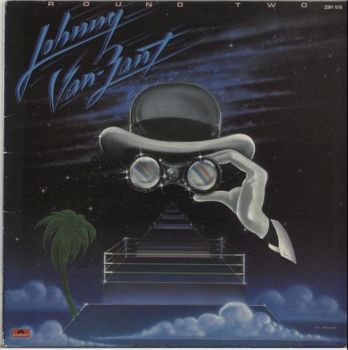 Johnny Van Zant Round Two vinyl LP album (LP record) UK J5XLPRO654137