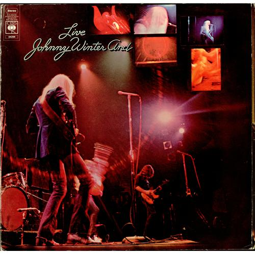 Johnny Winter Johnny Winter And Live 2nd Uk Vinyl Lp