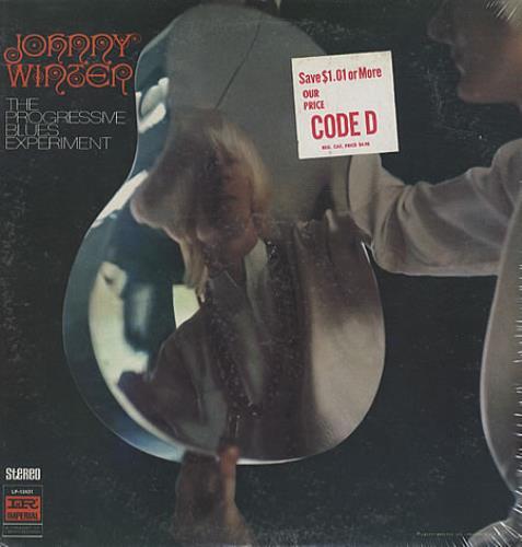 Johnny Winter The Progressive Blues Experiment - Sealed vinyl LP album (LP record) US JNWLPTH325092