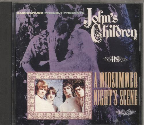 John's Children Midsummers Night's Scene CD album (CDLP) UK JHCCDMI146692