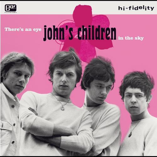 John's Children There's An Eye In The Sky - White Vinyl - Sealed vinyl LP album (LP record) UK JHCLPTH774778