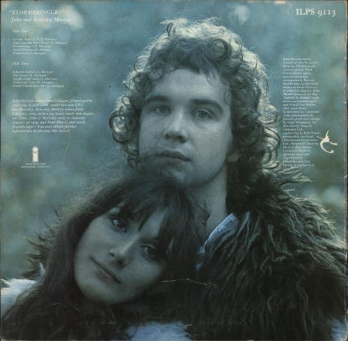 John & Beverley Martyn Stormbringer! - 1st - VG vinyl LP album (LP record) UK J3LLPST726819