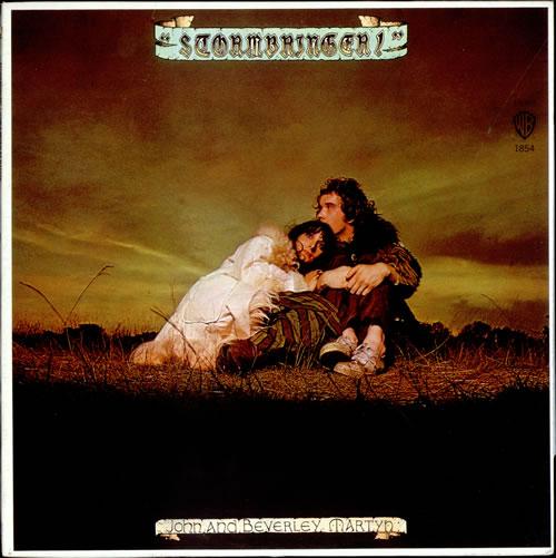 John & Beverley Martyn Stormbringer - White Label vinyl LP album (LP record) US J3LLPST523967