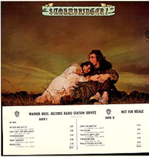 John & Beverley Martyn Stormbringer vinyl LP album (LP record) US J3LLPST199460