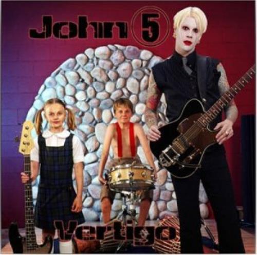 John 5 Vertigo CD album (CDLP) US JN5CDVE310685