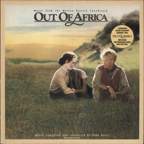 John Barry (Composer) Out Of Africa vinyl LP album (LP record) UK JBYLPOU521805