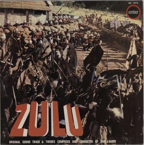 John Barry (Composer) Zulu vinyl LP album (LP record) UK JBYLPZU580766