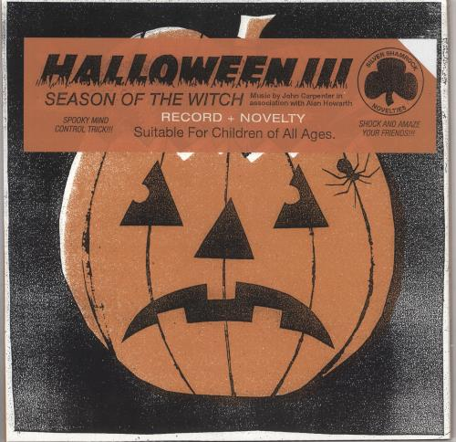 John Carpenter Halloween III: Season Of The Witch - Green & Black Vinyl + Novelty - Sealed vinyl LP album (LP record) US JZVLPHA743310