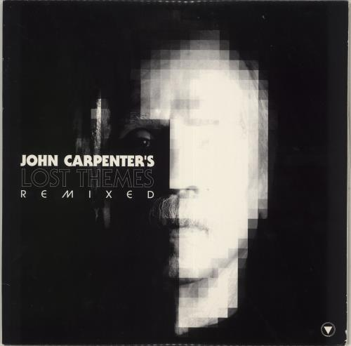 John Carpenter Lost Themes Remixed - Clear/Red vinyl vinyl LP album (LP record) US JZVLPLO717361