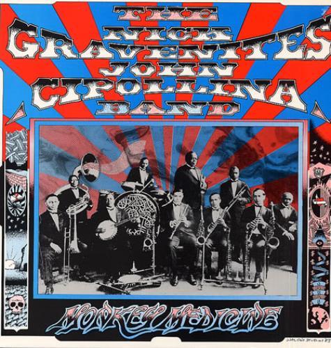John Cipollina Monkey Medicine vinyl LP album (LP record) UK CIPLPMO333328