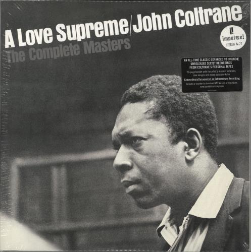 John Coltrane A Love Supreme: The Complete Masters 3-LP vinyl record set (Triple Album) UK JCO3LAL708872