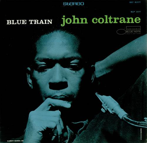 John Coltrane Blue Train vinyl LP album (LP record) US JCOLPBL444471