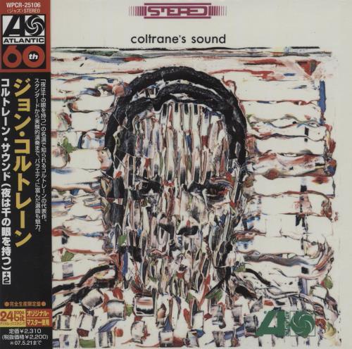 John Coltrane Coltrane's Sound CD album (CDLP) Japanese JCOCDCO755562