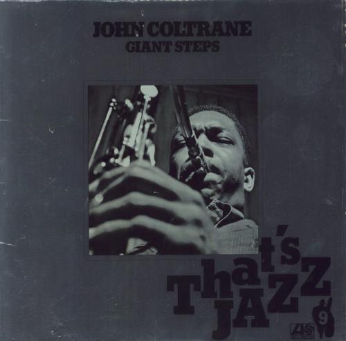John Coltrane Giant Steps vinyl LP album (LP record) German JCOLPGI196866