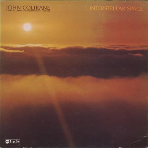 John Coltrane Interstellar Space - Quadraphonic vinyl LP album (LP record) US JCOLPIN459417
