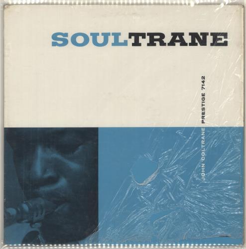 John Coltrane Soultrane - 1st - shrink vinyl LP album (LP record) US JCOLPSO719330