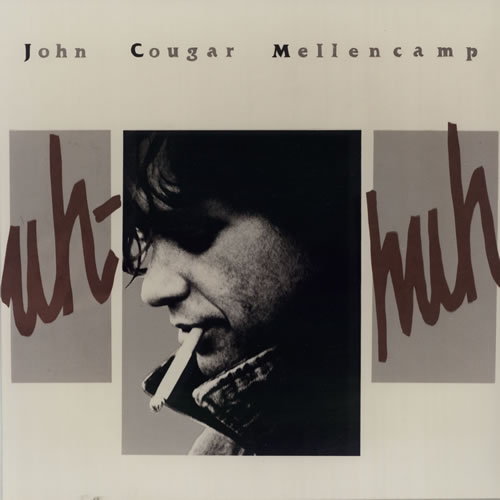 John Cougar Mellencamp Uh-Huh + Artwork Proof Dutch Promo media press kit  (576402) PRESS KIT