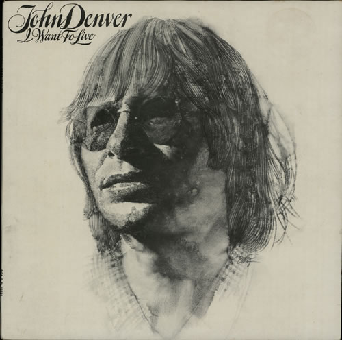 John Denver I Want To Live Uk Vinyl Lp Album Lp Record