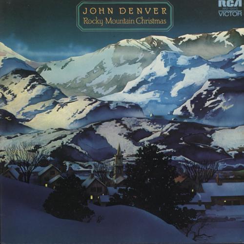 John Denver Christmas.John Denver Rocky Mountain Christmas Australian Vinyl Lp Album Lp Record