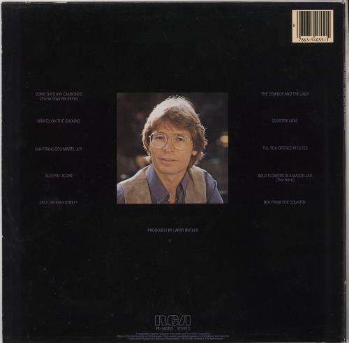 John Denver Some Days Are Diamonds vinyl LP album (LP record) Dutch DNVLPSO724702