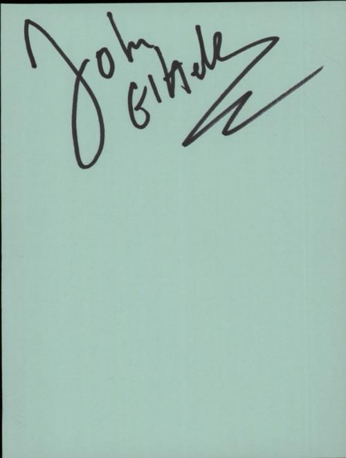 John Etheridge Page From An Autograph Book memorabilia UK KXJMMPA602897