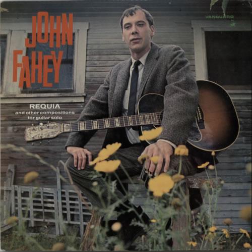 John Fahey Requia vinyl LP album (LP record) UK J-FLPRE604454