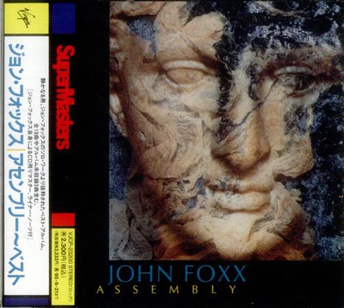 John Foxx Assembly CD album (CDLP) Japanese JFXCDAS19644