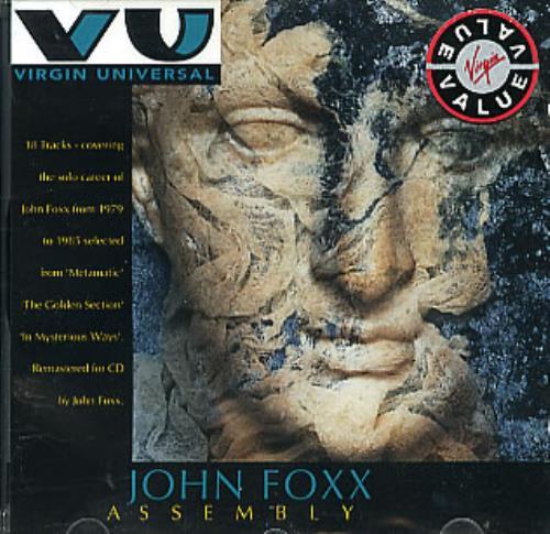 John Foxx Assembly CD album (CDLP) UK JFXCDAS300549